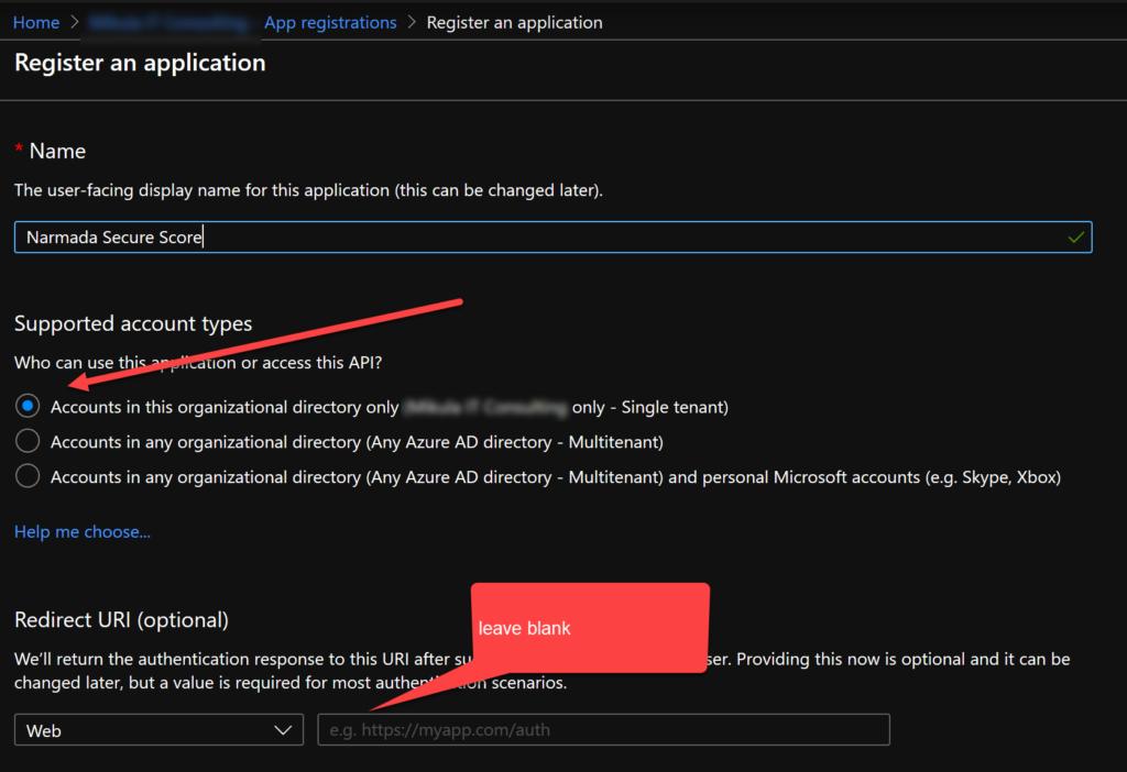 Register an application pane.