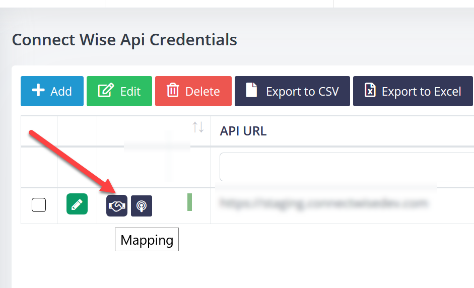 Map Narmada clients with ConnectWise Manage clients.